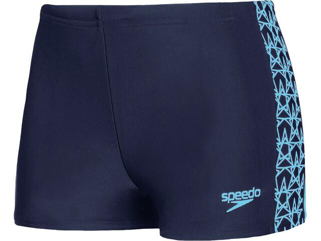 speedo Boomstar Splice Aquashorts Boys navy/pool